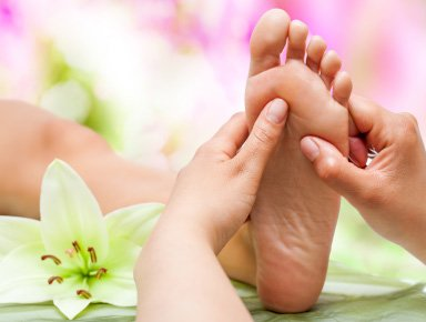 Foot and Hand Reflexology Image