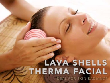 Lava Shell Therma Facial